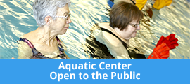 Aquatic Center Open To The Public